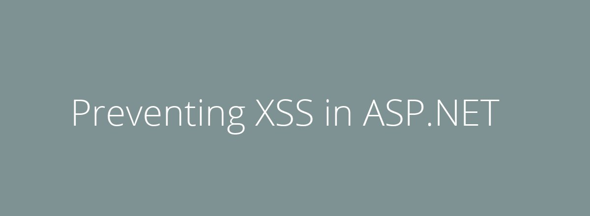 4elements | web design The Hague blog • Preventing XSS in ASP.NET